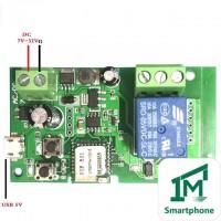 Sonoff32V одноканальное WiFi реле 5-32В для автоматики ворот с ПО 1M Smartphone